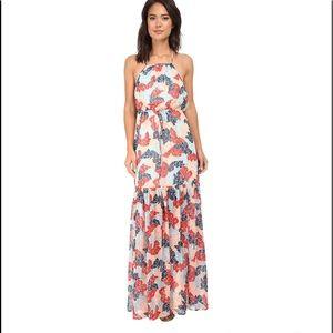 BCBG Generation Blouson Maxi Dress
